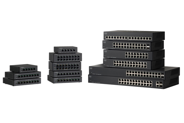 Cisco Small Business 110 Series Unmanaged Switches