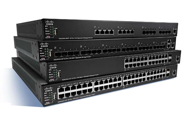 Cisco Small Business Stackable Managed Switches
