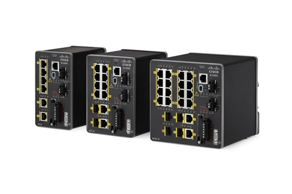 Cisco Industrial Ethernet 2000 Series Switches