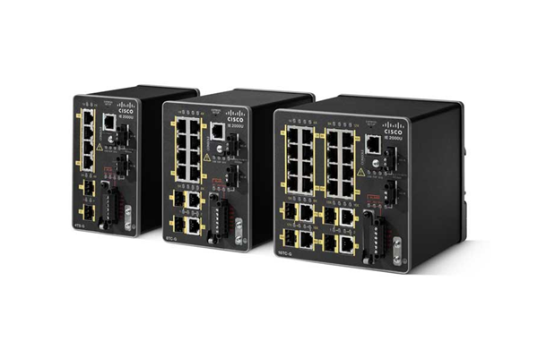 Cisco Industrial Ethernet 2000U Series Switches