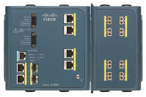 Cisco Industrial Ethernet 3000 Series Switches